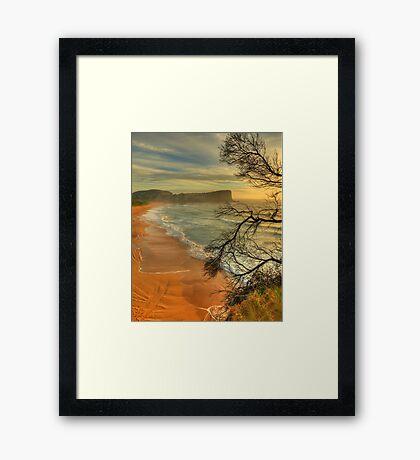 One Fine Day - Avalon Beach, Sydney Australia -The HDR Experience Framed Print