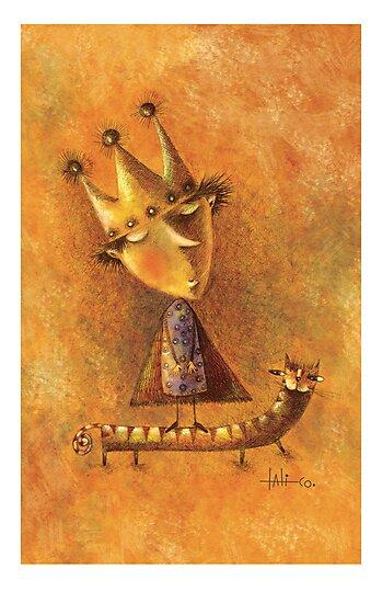 king by eulaliacornejo