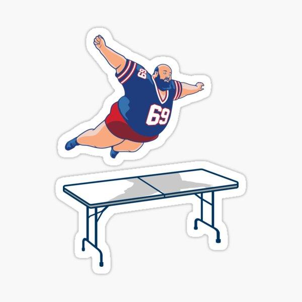 Bills Mafia Buffalo Bills Superfan table dive Design Sticker