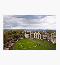 Court Yard Dudley Castle England Photographic Print
