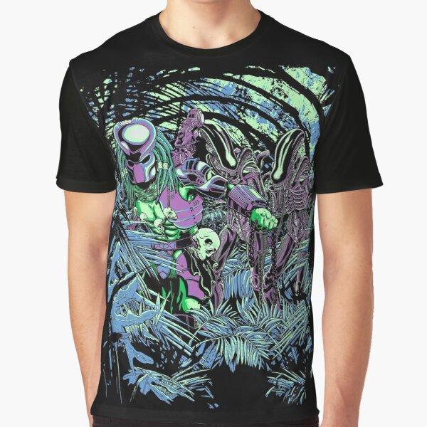 Welcome to the jungle. (neon) Graphic T-Shirt