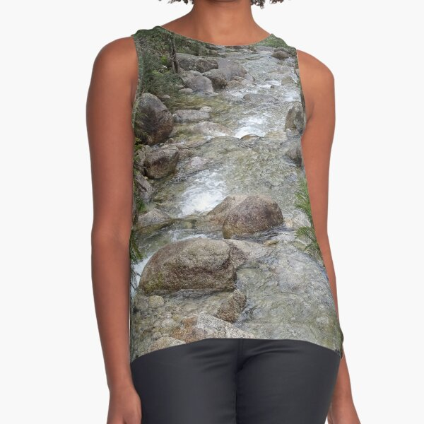 Mountain stream Sleeveless Top