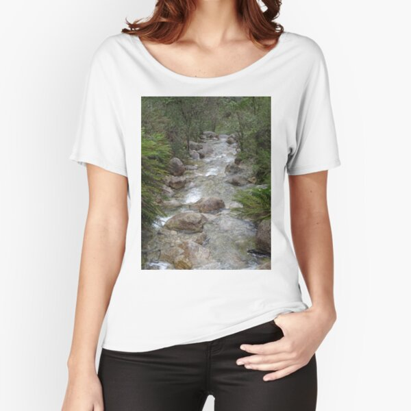 Mountain stream Relaxed Fit T-Shirt