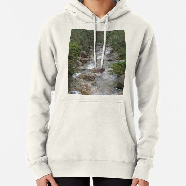 Mountain stream Pullover Hoodie