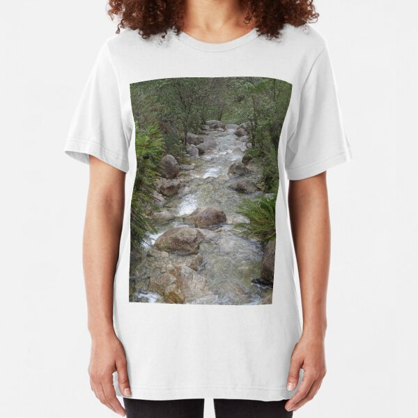 Mountain stream Slim Fit T-Shirt