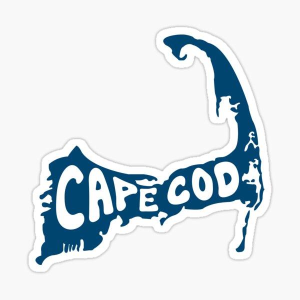 Cape Cod drawing Sticker