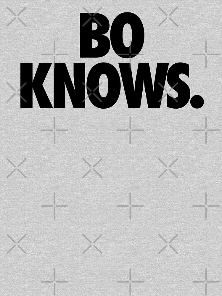 TShirtGifter presents: BO KNOWS. | Unisex T-Shirt