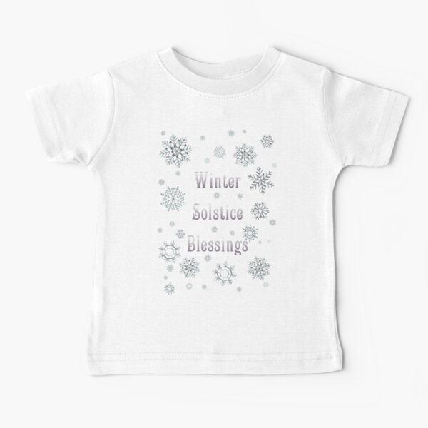 Winter Solstice Blessings Baby T-Shirt