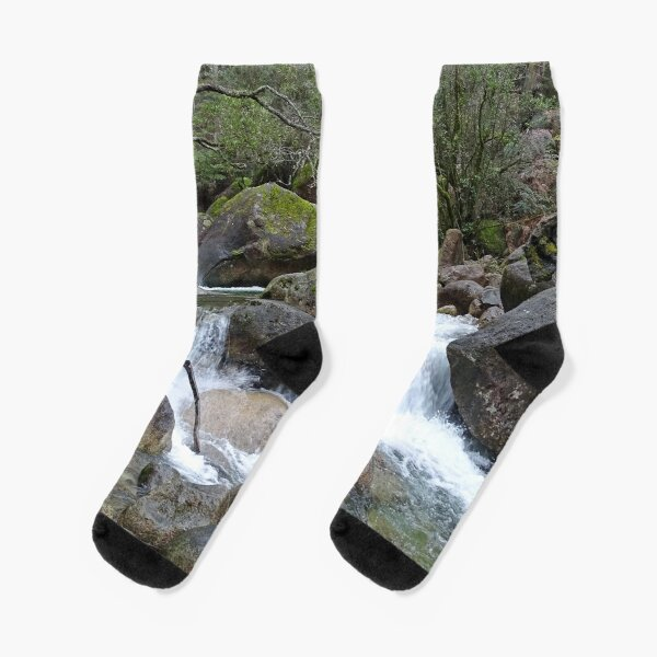 Stream and falls Socks