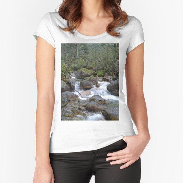 Stream and falls Fitted Scoop T-Shirt