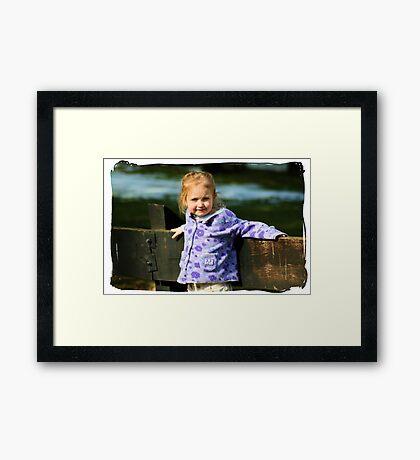 Kessa Framed Print