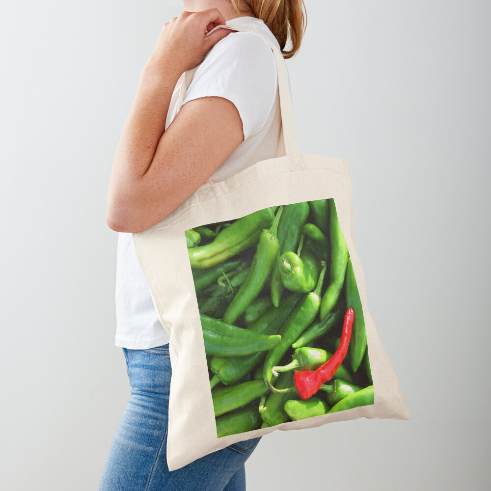 Red or Green Tote Bag
