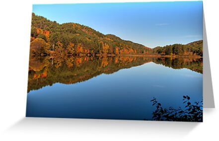 October Lake Symmetry by Joe Jennelle