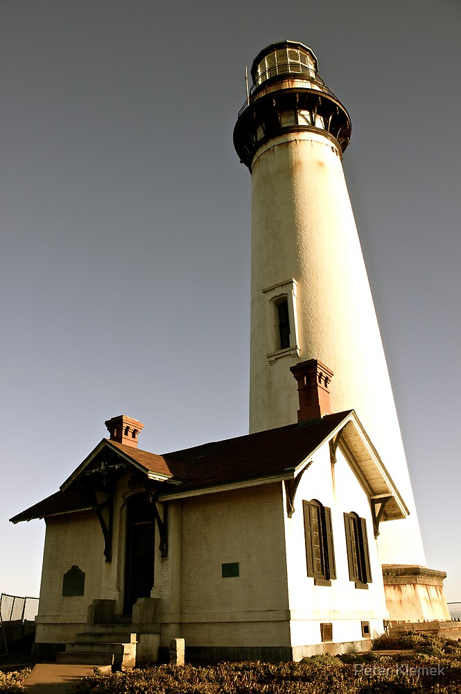 Light House at Pigeon Point by Peter Klemek
