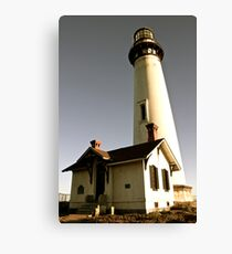 Light House at Pigeon Point Canvas Print