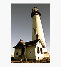 Light House at Pigeon Point Photographic Print