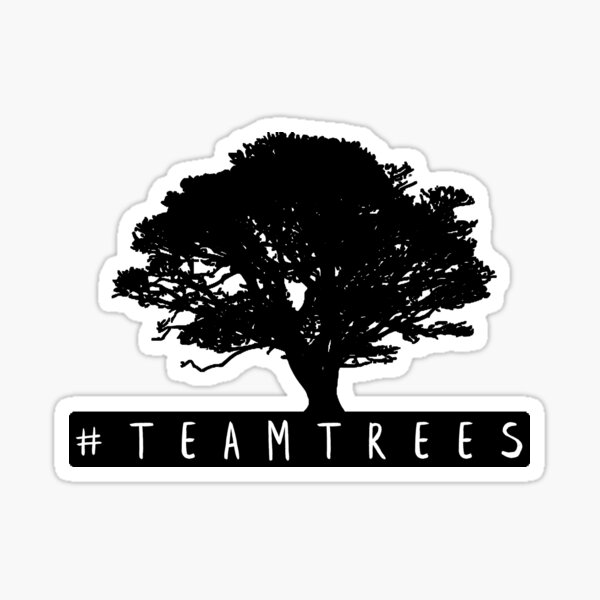 #TeamTrees Sticker