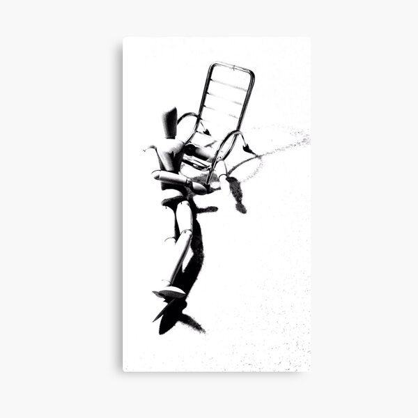 """Silly Seat (9)"" Canvas Print"