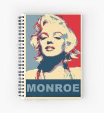 Marilyn Monroe Pop Art Campaign  Spiral Notebook