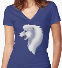 Leo Fitted V-Neck T-Shirt