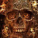 « Fire Skull » par cecilevcreation