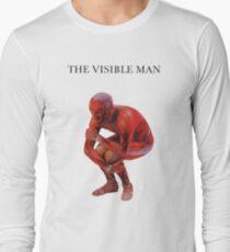 david byrne the visible man Long Sleeve T-Shirt