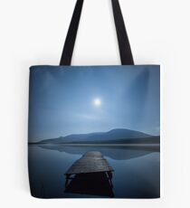 Moon over Lough Aubha Tote Bag