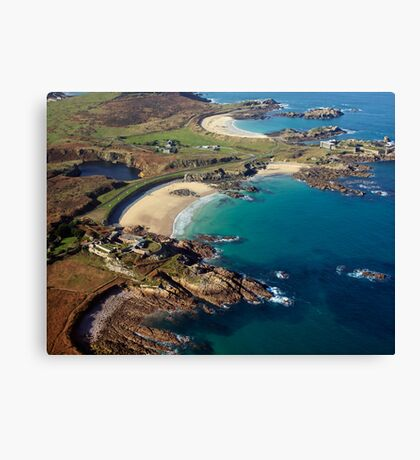 Corblet's Beach - Alderney Canvas Print