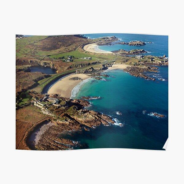 Corblet's Beach - Alderney Poster