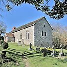 The Church at Coombes, West Sussex by dgbimages