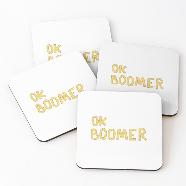 OK BOOMER Coasters (Set of 4)