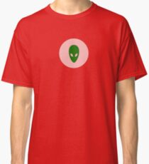 Cool Alien T-shirt and Sticker Classic T-Shirt