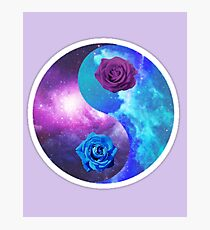 Rose Yin Yang *Limited time only Photographic Print