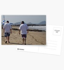 Father & Son Postcards