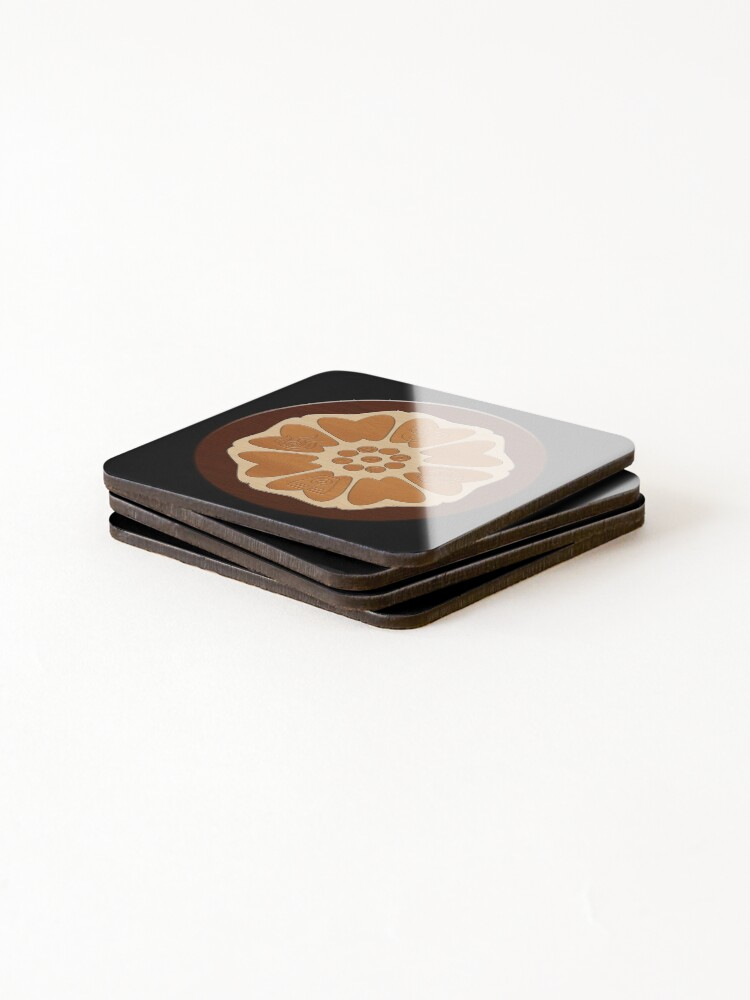 Alternate view of Order of the White Lotus Coasters (Set of 4)