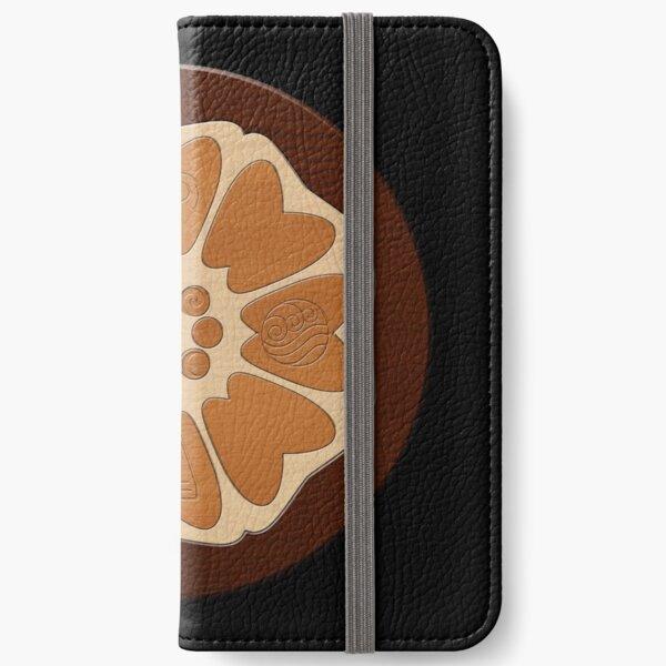 Ordre du lotus blanc Étui portefeuille iPhone