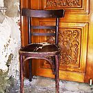 Monk's Chair by RightSideDown