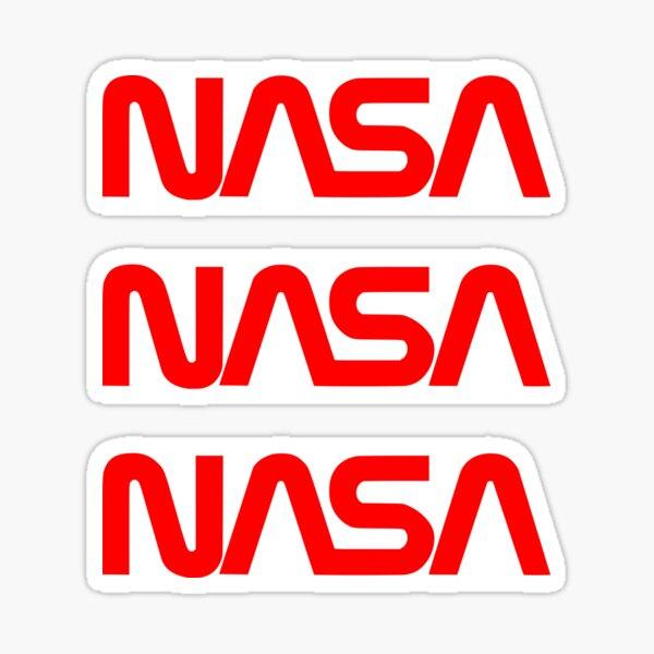 NASA ×3 Sticker