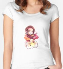 APH China Women's Fitted Scoop T-Shirt