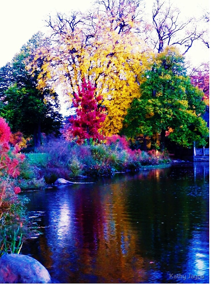 Autumn In Brooklyn by Funmilayo Nyree