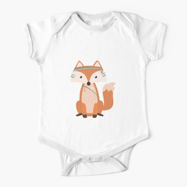 Felix Fox (Kid's Clothing) Short Sleeve Baby One-Piece
