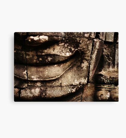 Smirk Canvas Print