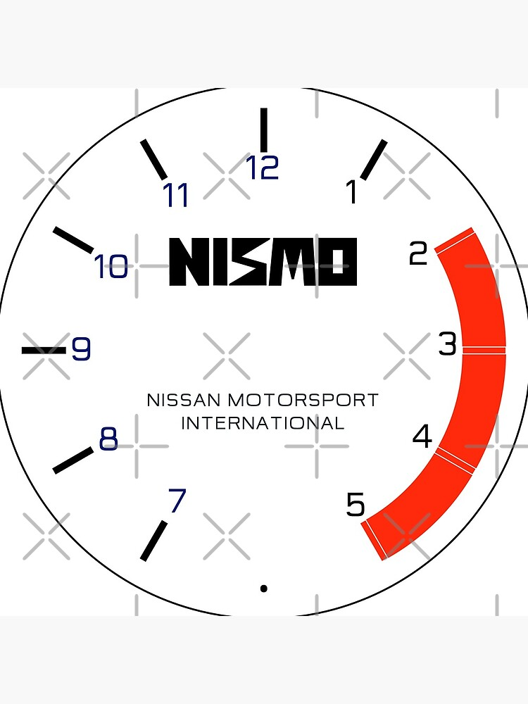 Nismo Racing Clock by merlz