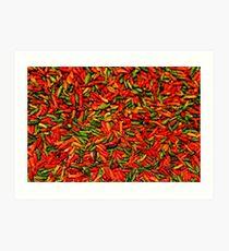 Chilis Art Print