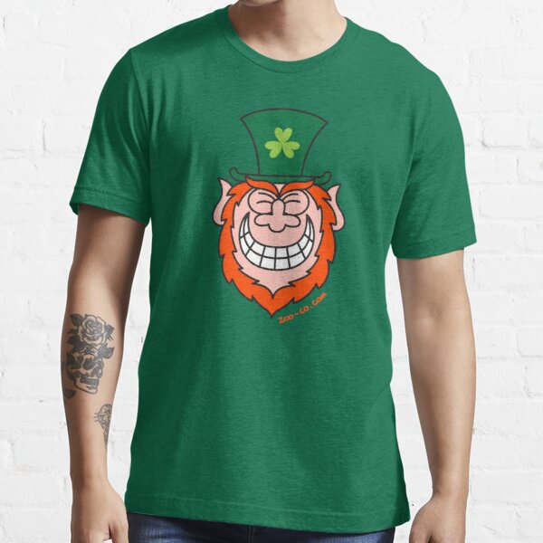 St Paddy's Leprechaun Grinning from Ear to Ear Essential T-Shirt
