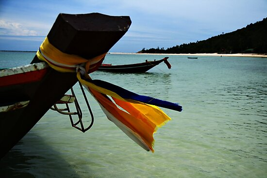 Thai Boat by Paul McSherry