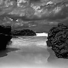 Between the rocks and the sky is the sea by bazcelt