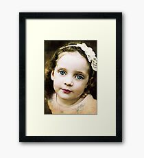 When my Muse is in the Mood Framed Print