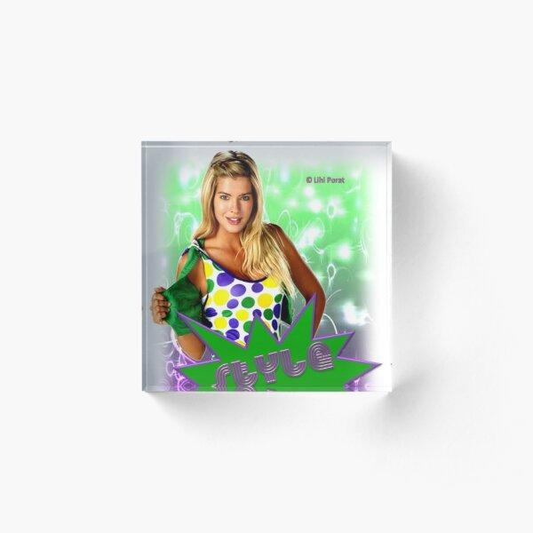 Style Me Acrylic Block