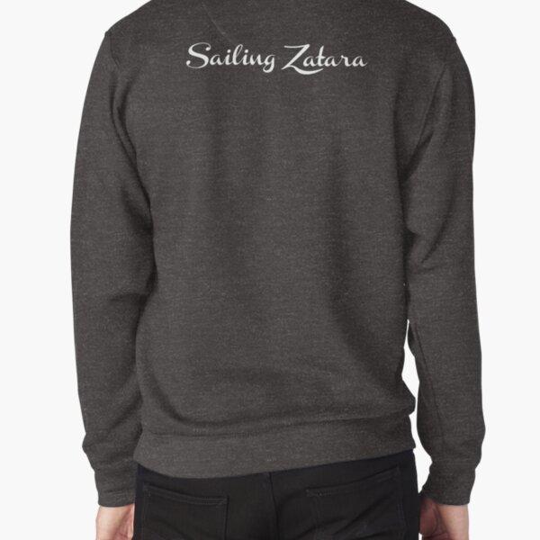 Sailing Zatara Logo - White Pullover Sweatshirt